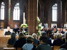 25 Years of transplants celebration Manchester Catherdral