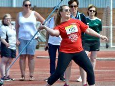 Charlotte Carney  Silver Medallist in Long Jump, Javelin  Bronze in Badminton