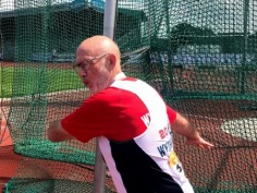 Dave Ayre - Gold Medallist in Volleyball, Discus and High Jump
