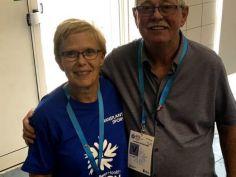 Allan and Joy Jones -Games Volunteers