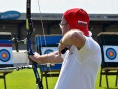 Pete Nichols - Gold Medal in Archery