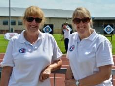Team Managers - Lynda Ellis and Jane Nuttall