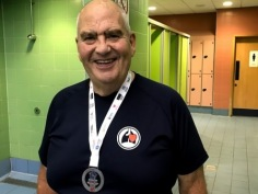 Neil Eadie - Silver  Medal in Swimming and Archery