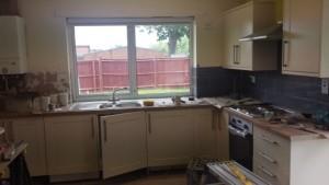 Kitchen nearly finished web